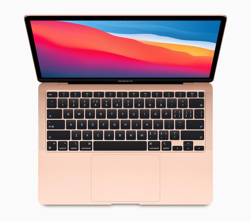 M1 晶片的高效能和低功耗, MacBook Air 雖然採用無風扇設計一樣具備強勁性能。