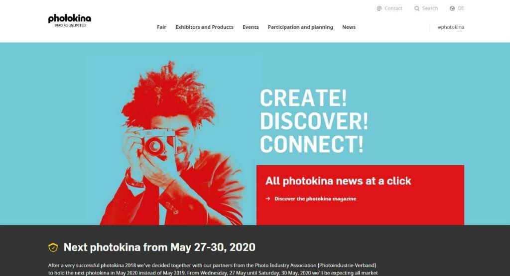 Photokina 原定是今年 5 月在德國科隆舉行的。