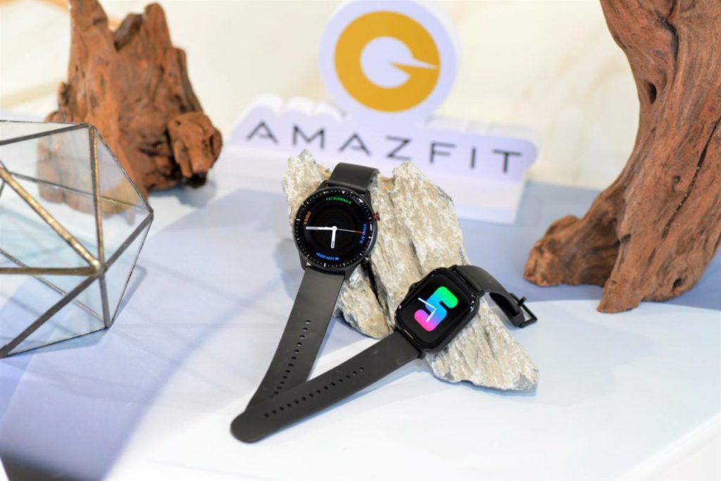 圓形錶面的 GTR2 及方型錶面的 GTS2