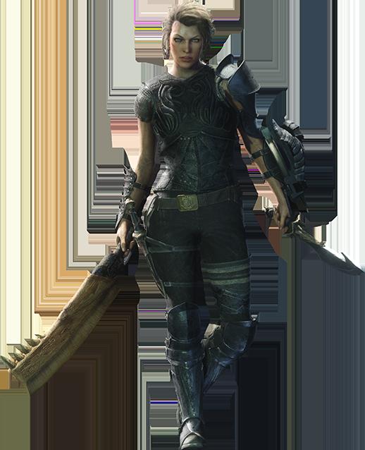 在該任務中玩家需控制由 Milla Jovovich 配音的阿蒂米斯,與電影中本人相不相似就見仁見智了。