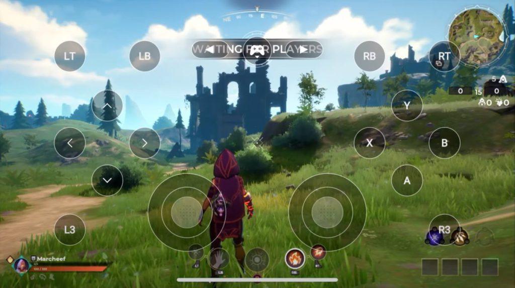 玩家可以藍牙手掣配對,亦可以觸控控制 GeForce NOW 上的遊戲。