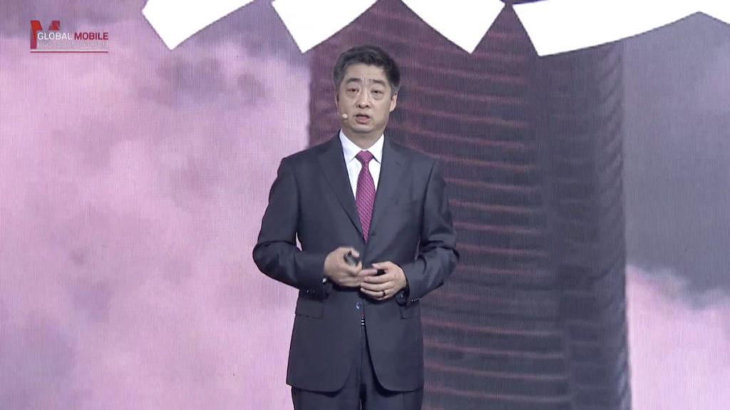 胡厚崑表示,全球5G網絡正在加速發展。