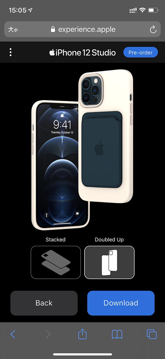 連分享 MagSafe 保護套及 MagSafe 皮革銀包都可以用兩個方式表達。