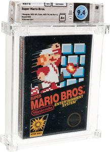 而這款在 7 月時同樣以天價售出的《超級孖寶兄弟》,都是因為封面印刷而成為珍品。