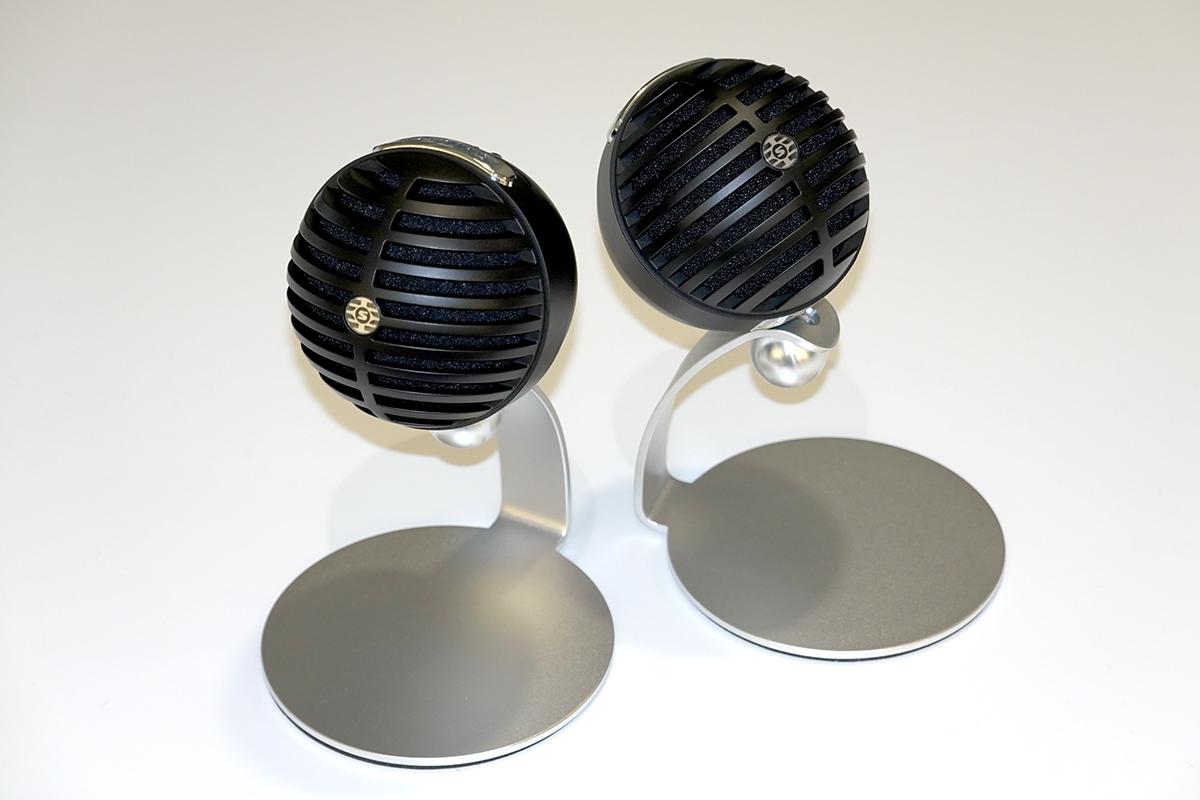 球型設計的家用辦公咪高峰 MV5C,特別適合視像會議時使用。