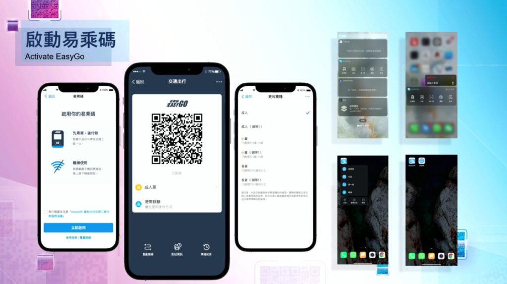 乘客只需在入閘前先打開 AliPay HK 的易乘碼,或是使用 MTR Mobile app 就可以輕鬆入閘,整個過程只少於一秒的時間