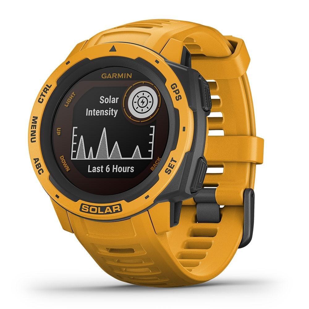 Garmin Instinct Solar 是一款支援太陽能充電的智能腕錶