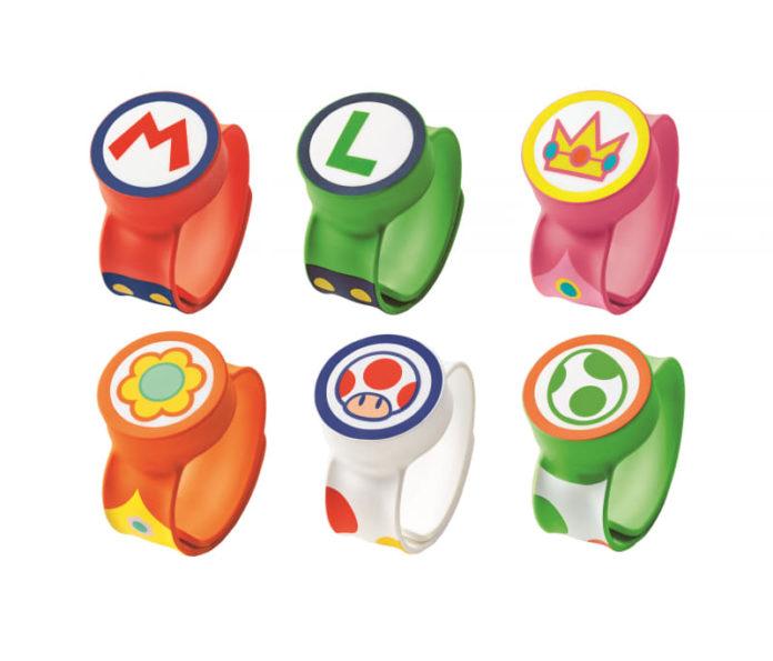遊戲角色手環的設計也很可愛。