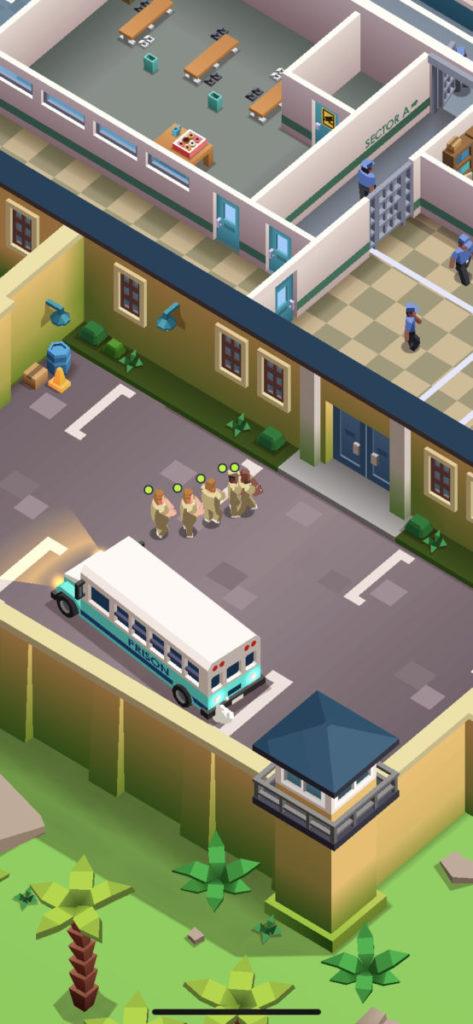 講解完畢後,第一批囚犯便會正式進駐,玩家的任務亦正式開始。