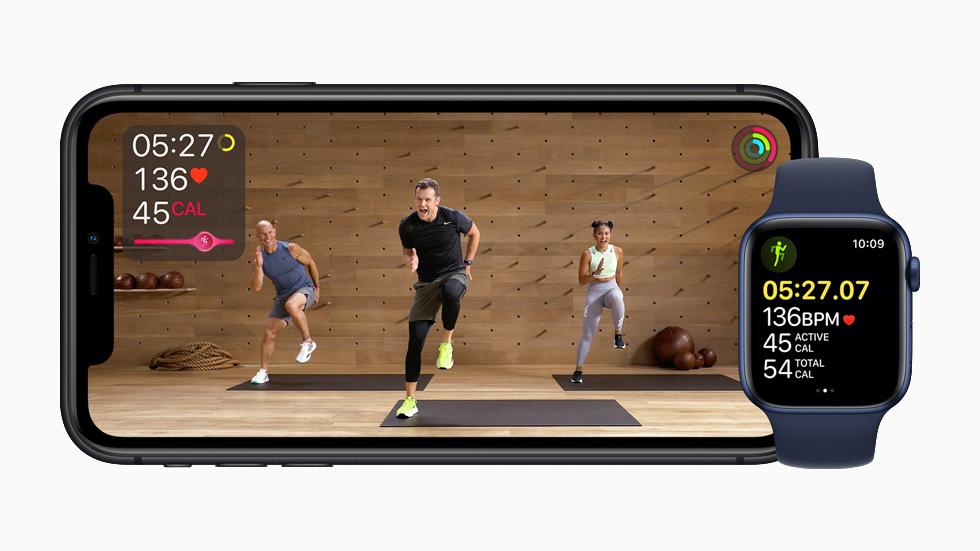 透過手機就可以跟住教練做運動,而且可以即時看見數據的變化