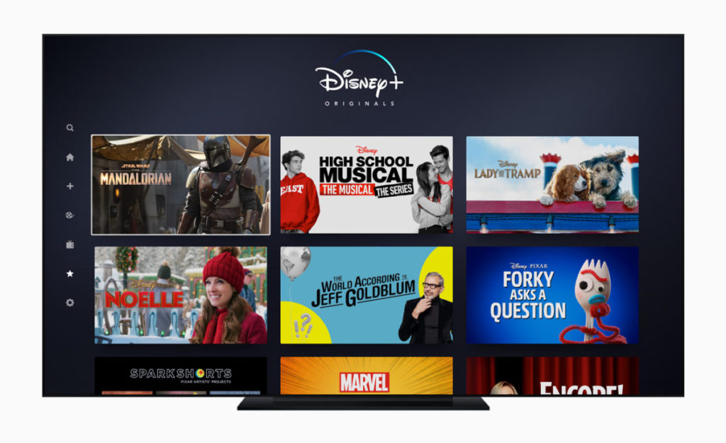 Apple TV 年度最佳 App :《 Disney+ 》