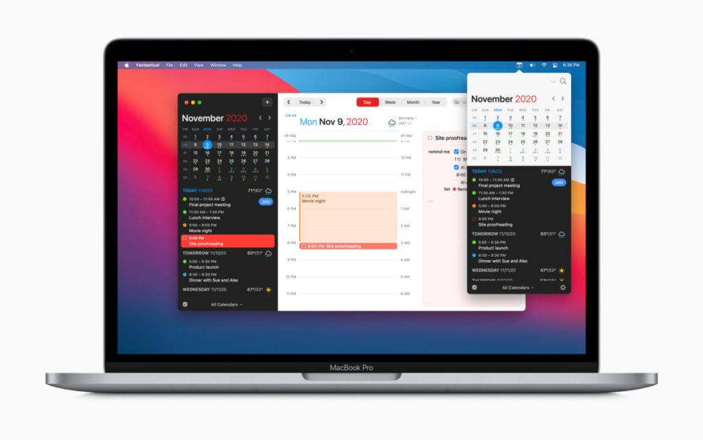 Mac 年度最佳 App :《 Fantastical 》