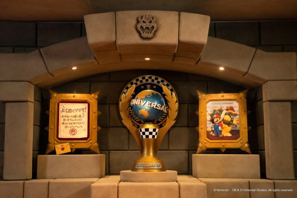 從右邊信件可知該遊戲是乘坐賽車前往城堡。