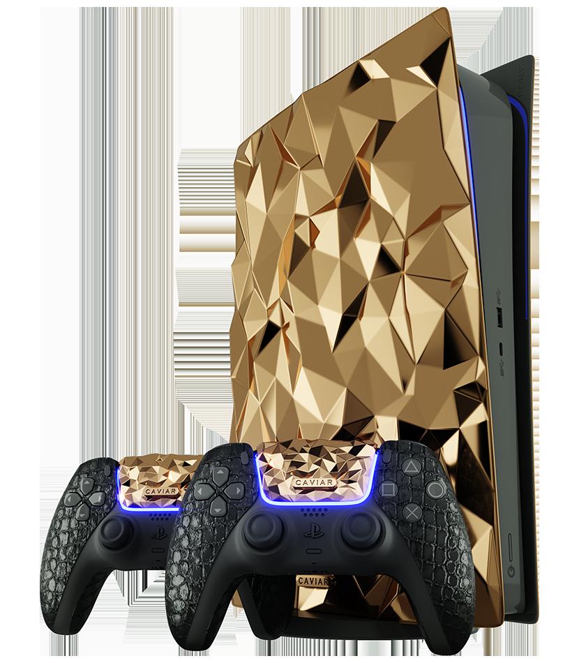 這部由 20 公斤黃金打造的 PS5 沒有開價,想買就要聯絡 Caviar 問價。