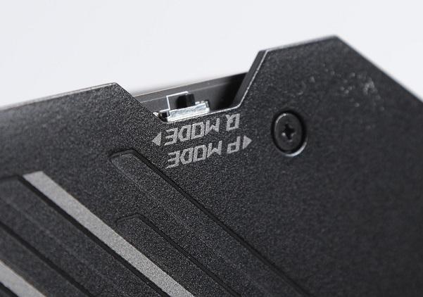 設有P Mode及Q Mode BIOS供用家作效能及靜音BIOS切換。