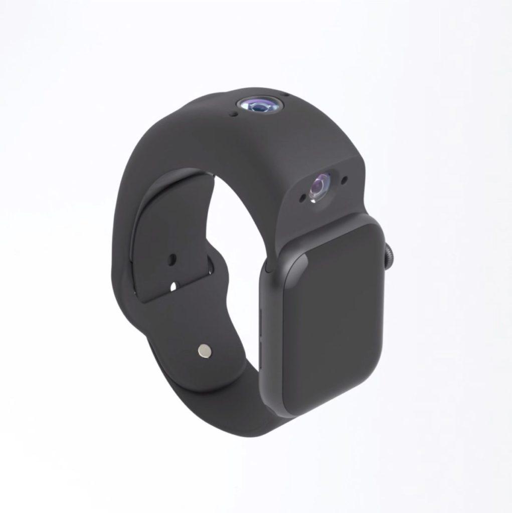 Wristcam 是附在 Apple Watch 上的視像鏡頭。