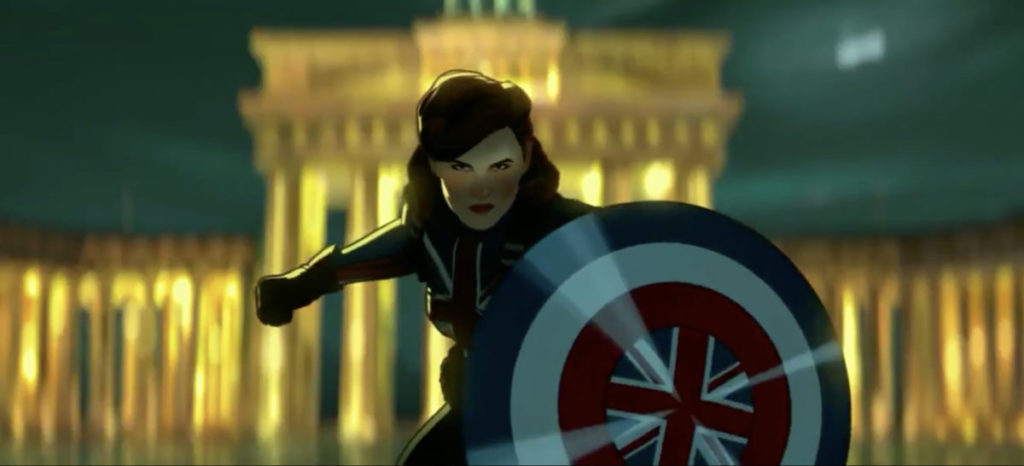 《 WHAT IF...? 》Peggy Carter 變成美國隊長?