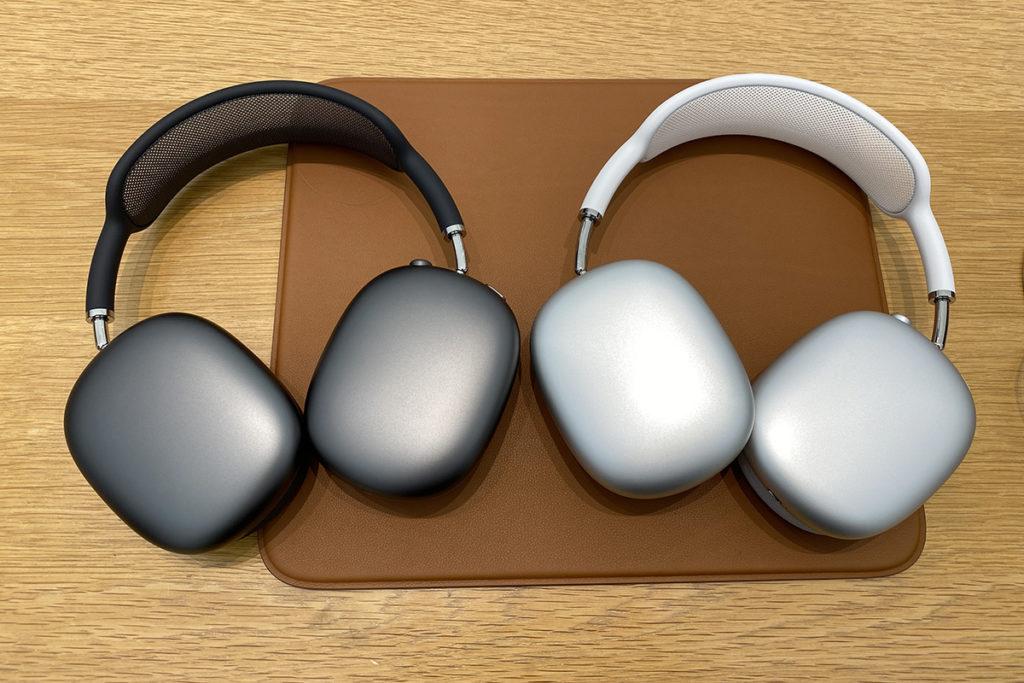 AirPods Max 的陽極處理鋁金屬耳罩極具質感。