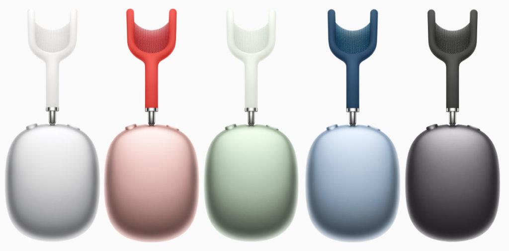 有 5 種顏色可供選擇。