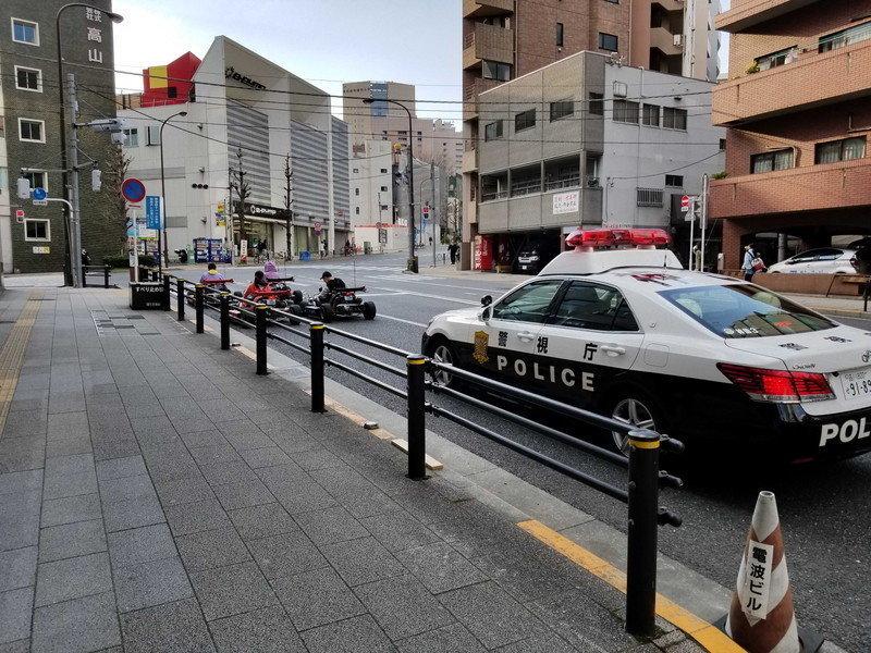 2019 年 3 月仍可在東京街頭見到 MARICAR 的踪影,不過已經沒有穿著孖寶兄弟的服飾。