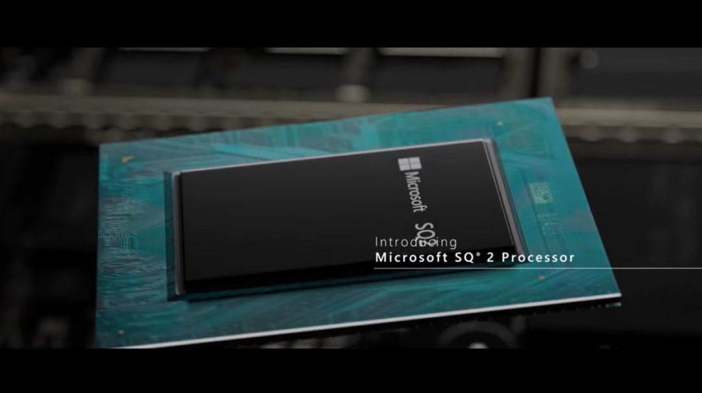今年 10 月推出的 Surface Pro X 用上了與 Qualcomm 共同研發的 ARM-based 處理器 SQ2 。