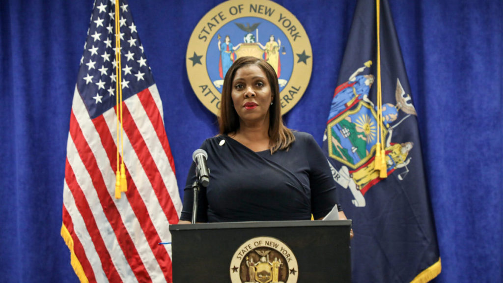 紐約州檢察總長 Letitia James 指 Facebook 近十年來利用收購來扼殺競爭。