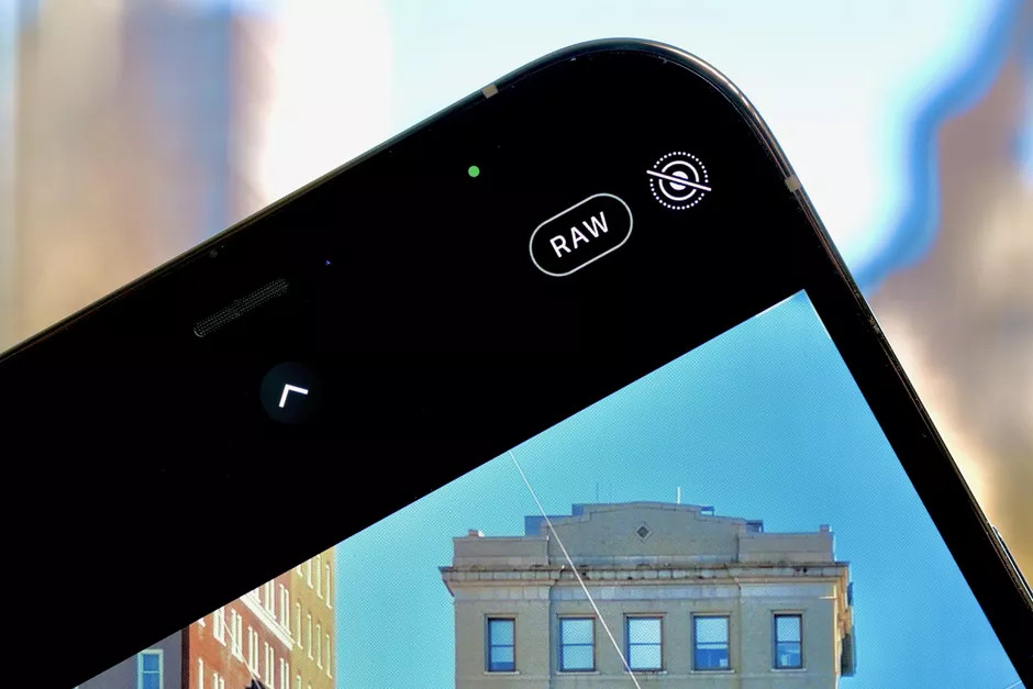 針對 iPhone 12 Pro 及 Pro Max 推出的 ProRaw 功能