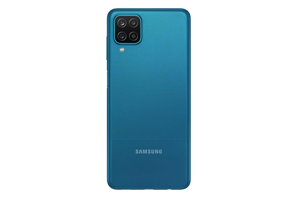 Samsung網上商店特別版產品 - 藍色 Galaxy A12 (4GB + 64GB ROM),即日發售,售價 $1,398。