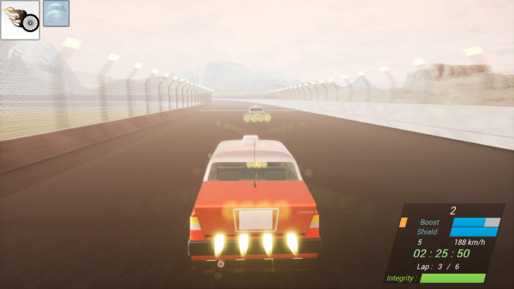 和《馬利奧賽車》一樣,玩家可以在賽道上拾取道具強化賽車,或者妨礙對手。