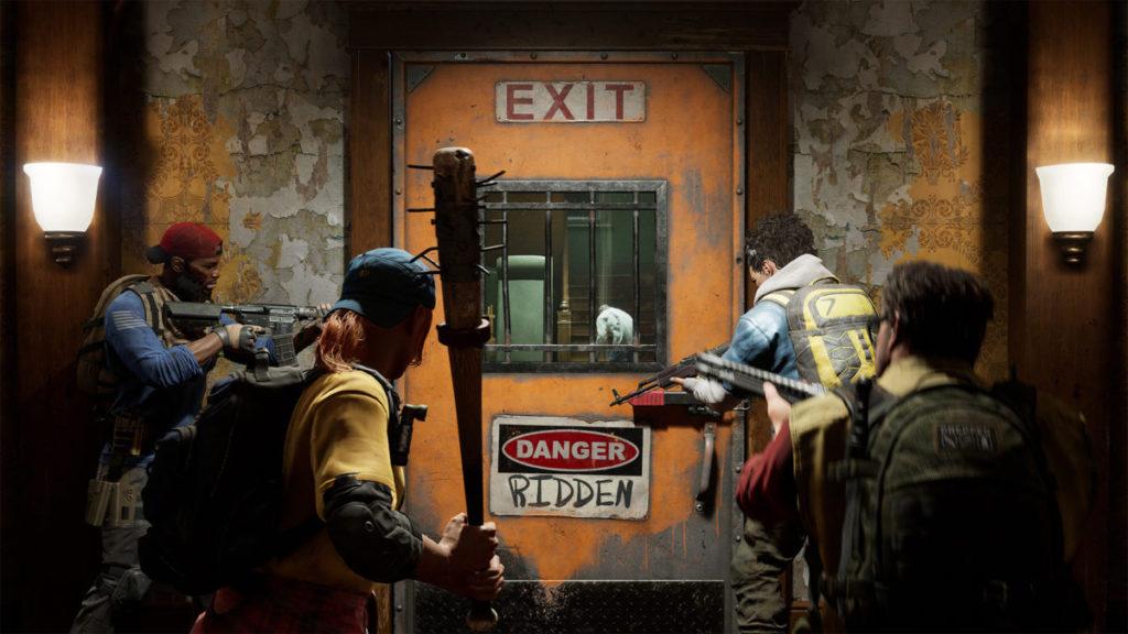 見到四個人、安全門還有喪屍,是不是有各種回憶呢?