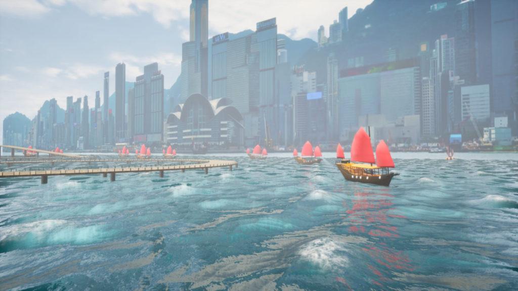 遊戲製作雖然粗糙,但富有香港特色。