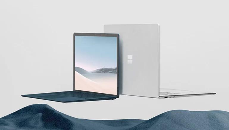 新的 Surface Laptop 3 13.5″ 採用 10 代 Intel Core i5-1035G7 或 i7-1065G7 處理器,配備解像度為 2256 x 1504 (201PPI) PixelSense 觸控屏幕