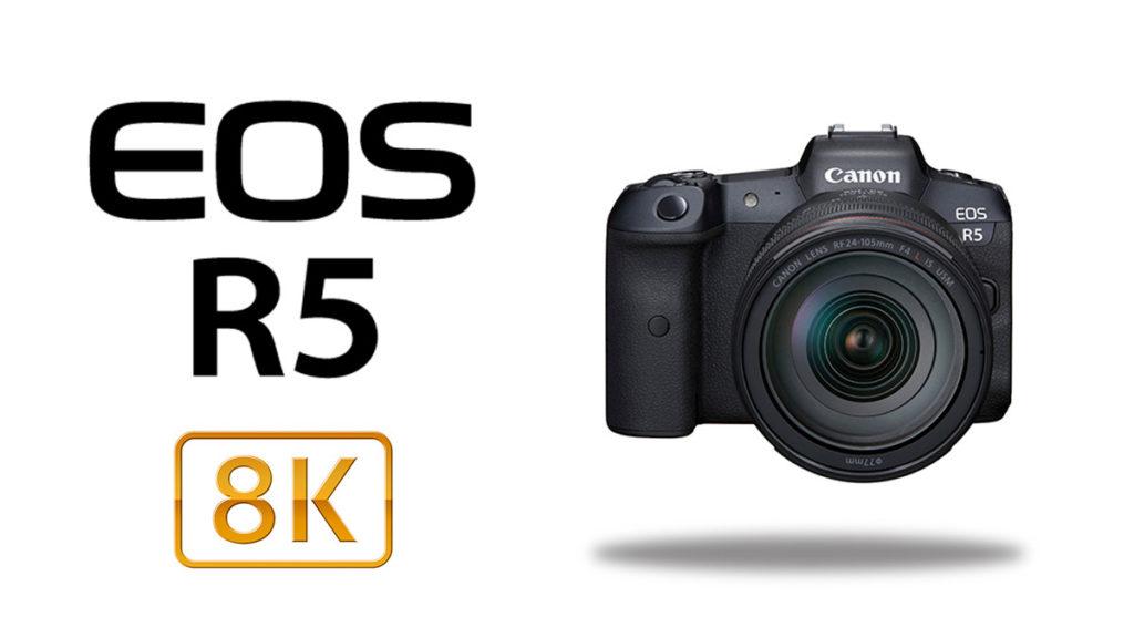 8K 拍攝是 EOS R5 的主打功能