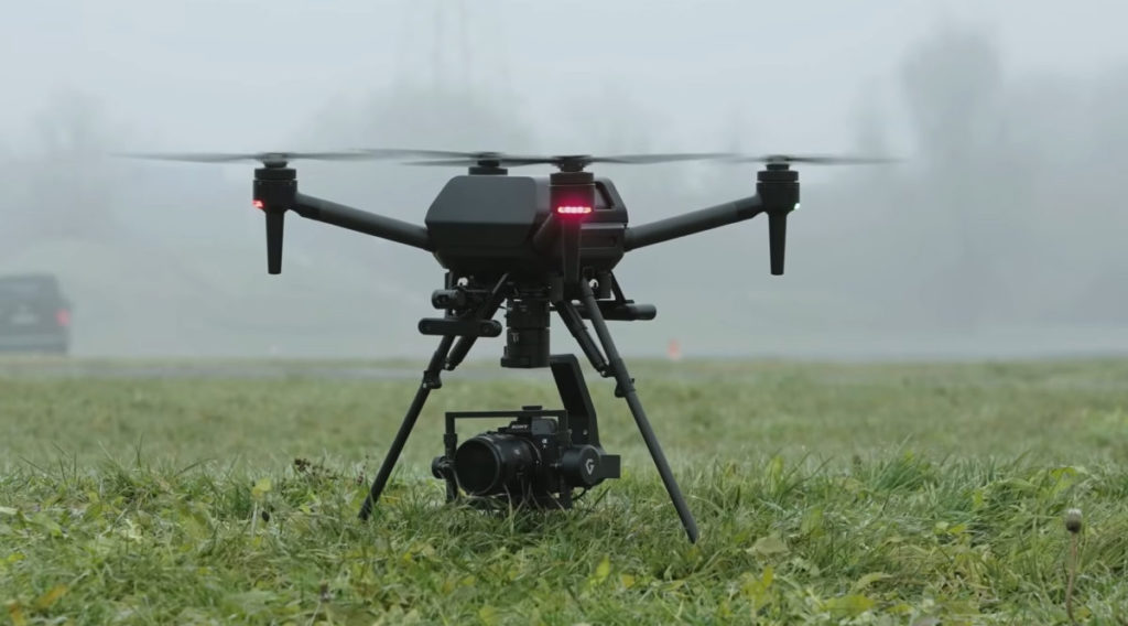 Sony 的無人機產品 AirPeak