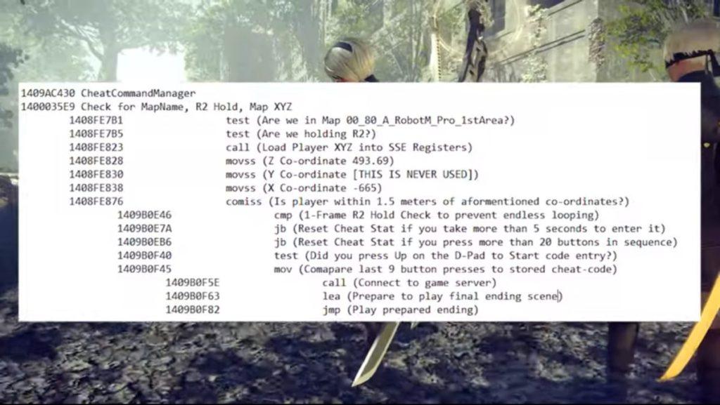 Lance 破解遊戲發現了該代碼,經過多次嘗試後終於成功。