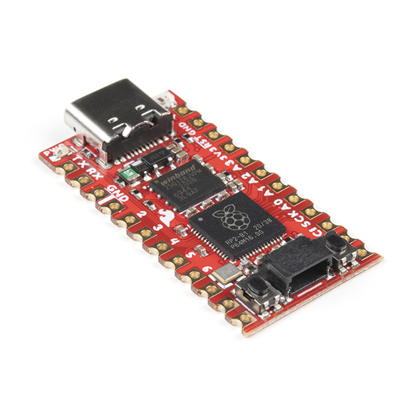 SparkFun Pro Micro - RP2040 也是小巧的開發板,售 US$9.95 (約港幣 $77 )。