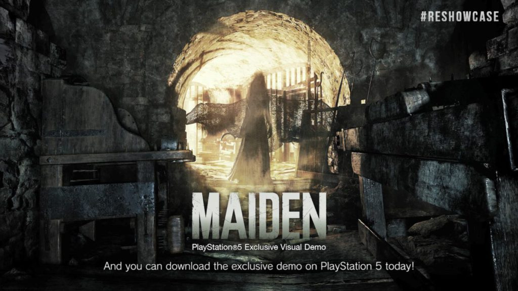 PS5 平台即日起可下載試玩章節「 Maiden 」。