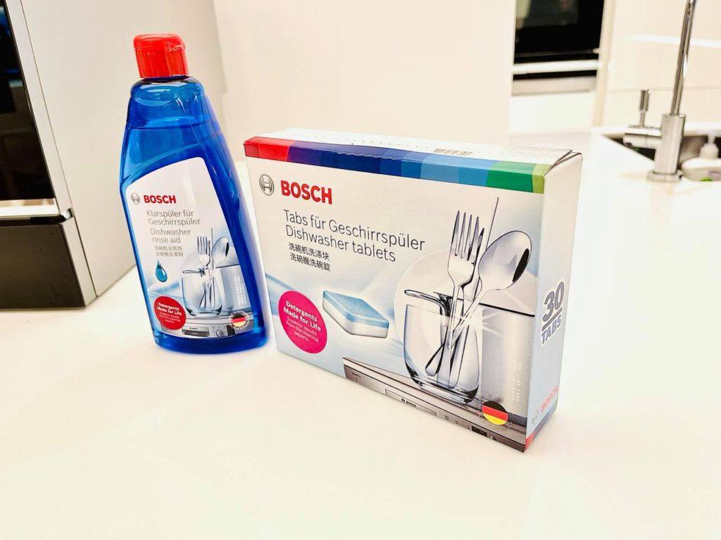 用戶可於 Bosch 網店購買洗碗碟機用的清潔丸或清潔劑