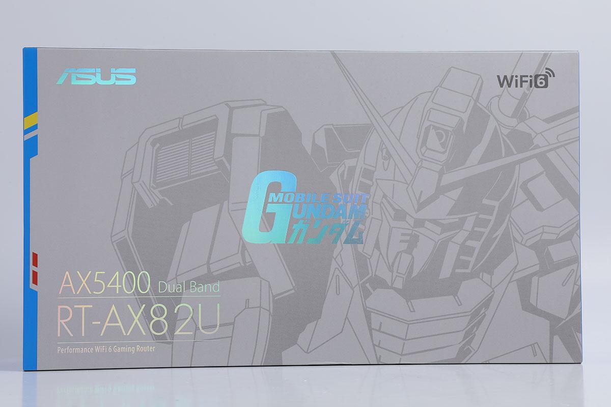高達限定版  ASUS RT-AX82U Gundam Edition 1