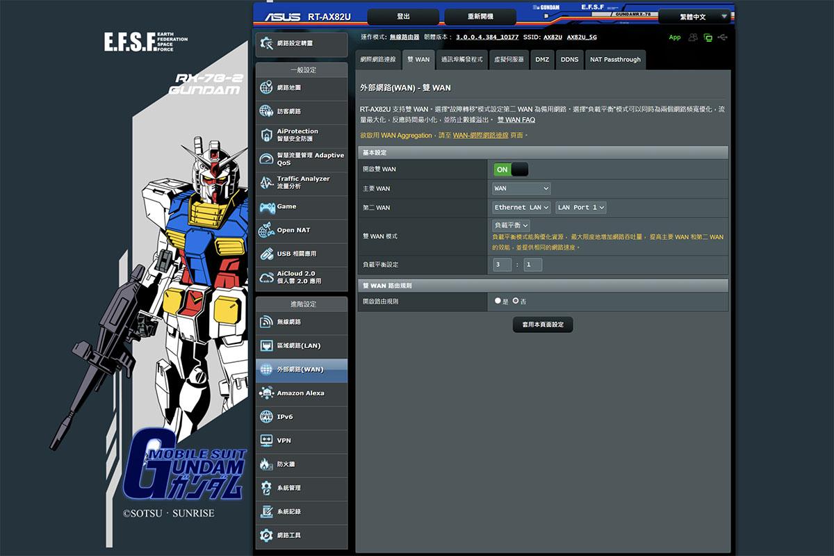 高達限定版  ASUS RT-AX82U Gundam Edition 12
