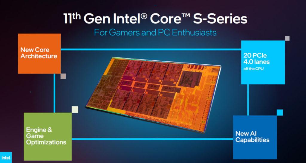 8 核心 Tiger Lake-H 擁有 20 Lanes PCI-E 4.0 ,其中 16 組將用作連接 GPU ,是理想的 Mobile RTX 30 用 CPU 。