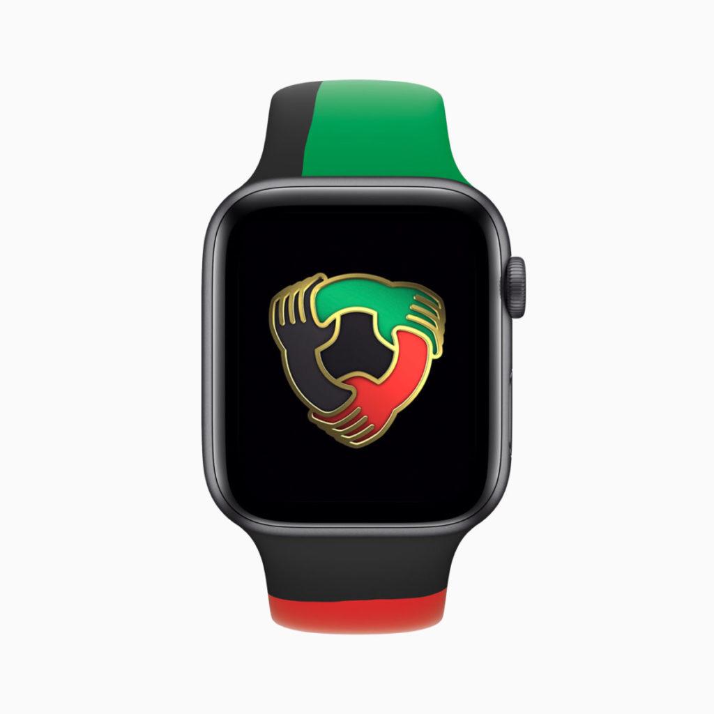 所有 Apple Watch 用戶在 2 月內連續 7 日完成運動圓圈,都可以得到限定版獎章。