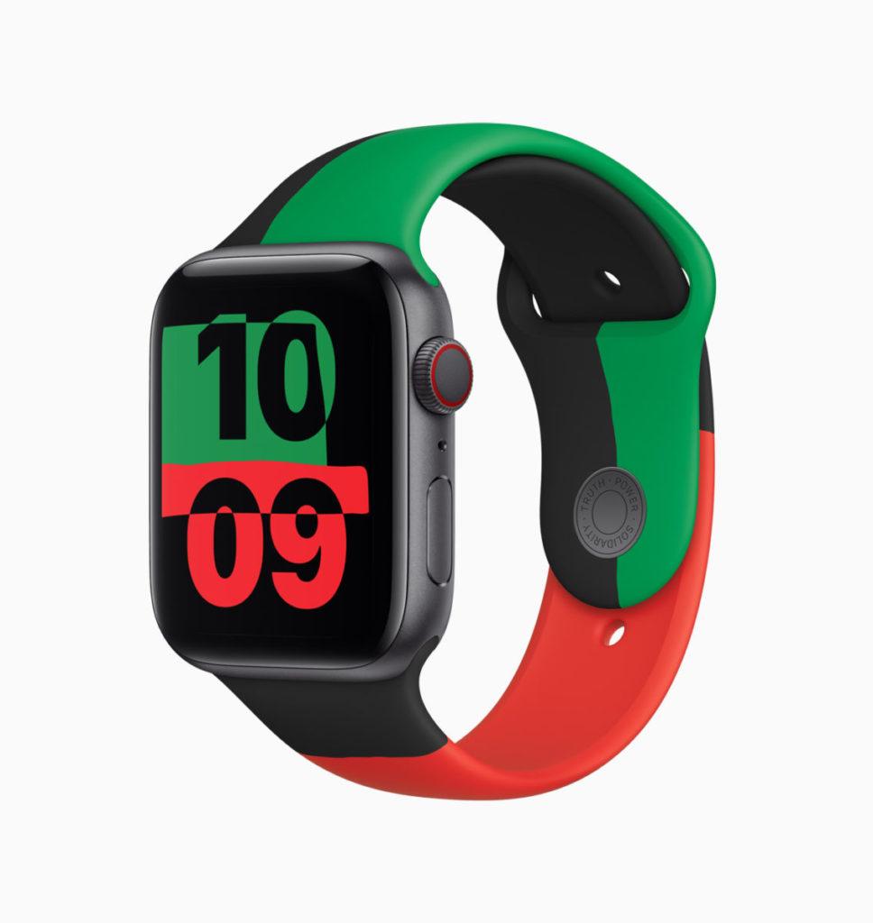 Apple Watch Series 6 Black Unity 手錶只會在 2 月內發售。