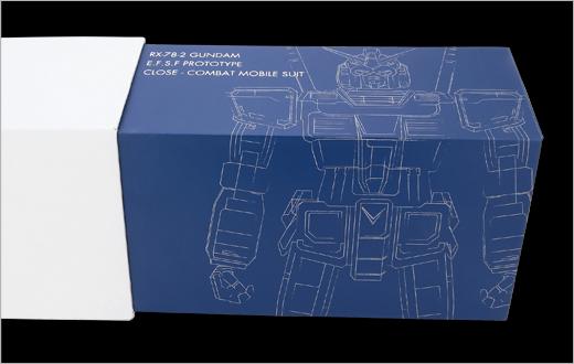 聯邦軍包裝當然是藍色的高達。
