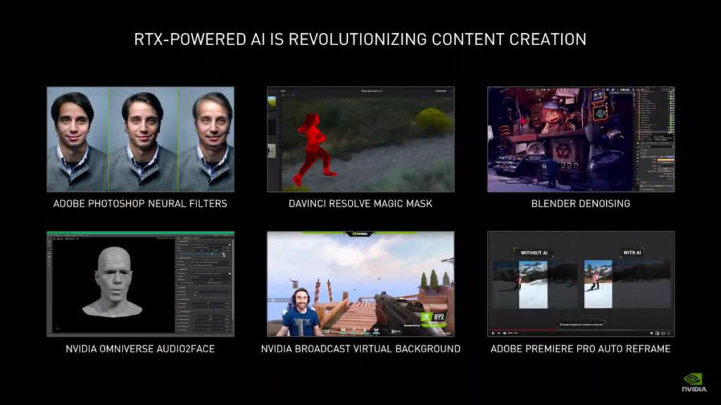 NVIDIA 展出多款基於 RTX 的 AI 應用