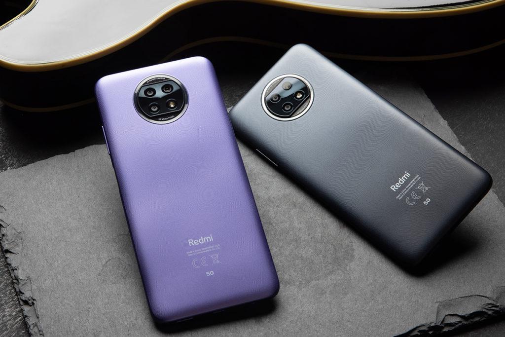 Redmi Note 9T 5G 備有日暮黑和晨曦紫兩種顏色,及 4GB+64GB 與 4GB+128GB 版本。