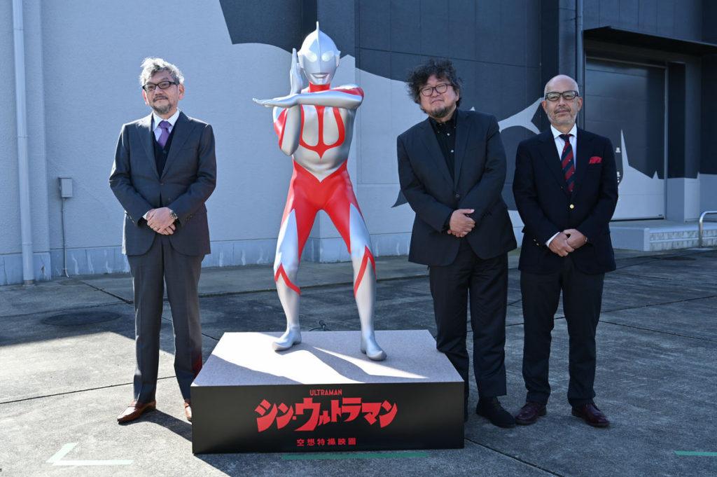 日本福島縣的須賀川特攝紀錄中心去年 11 月剪綵時,就展示一具電影中的 ULTRAMAN 立像。日本福島縣的須賀川特攝紀錄中心去年 11 月剪綵時,就展示一具電影中的 ULTRAMAN 立像。
