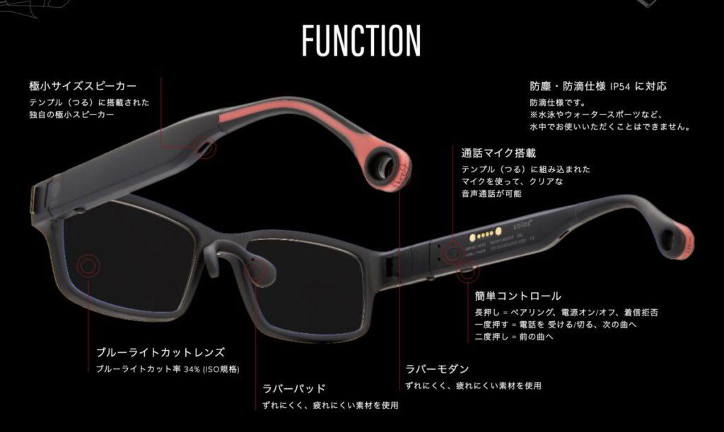 眼鏡臂上雖然有按鈕用來控制,但主要是觸控眼鏡臂來操控。
