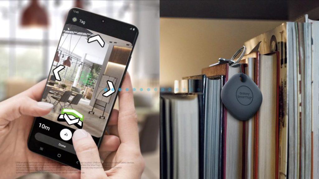 用戶可以利用 AR 方式直接去到 Galaxy SmartTag+ 的位置。