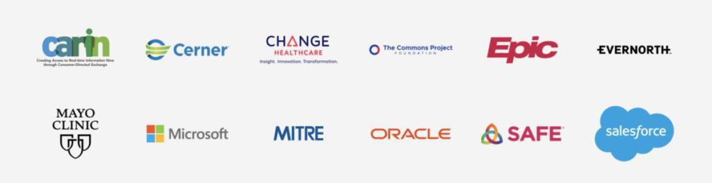 多間醫療機構和 Microsoft 、 Oracle 都參與計劃。